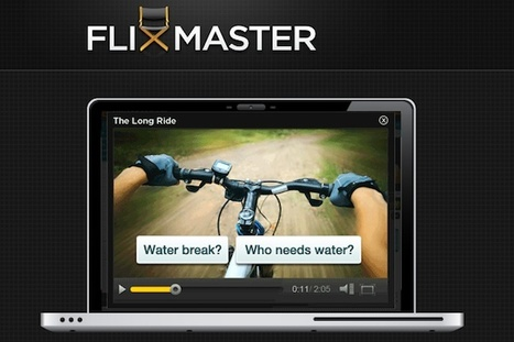 Flixmaster makes HTML5 video interactive | Innovations in e-Learning | Scoop.it