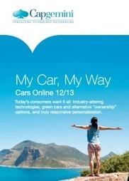 Etude cars online 2013 : L'automobile doit se digitaliser | Web : Etudes et Chiffres Clefs | Scoop.it