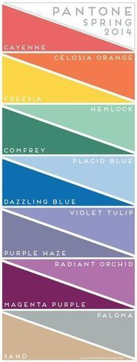 Celebrate with Color | current color trends | Scoop.it