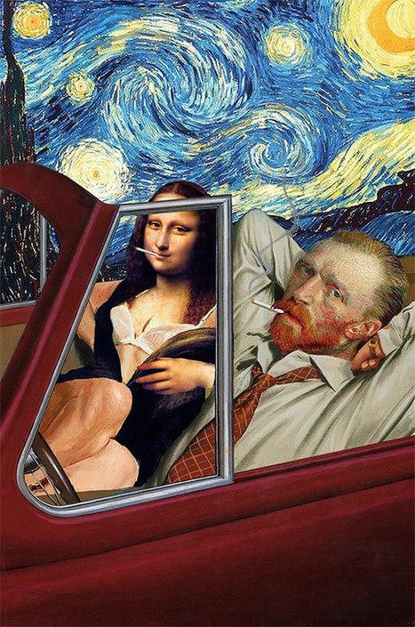 30 Pieces of Abstract Collage Art with Hilarious Results   El Mundo del Diseño Gráfico   Scoop.it