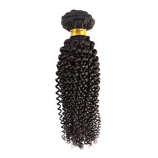 """100% Human Hair Black Kinky Curly Hair Extension 18"""" – WigSuperDeal.com 
