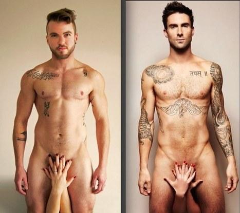 Transgender Magazine Recreates Naked Adam Levine Photo | Gay News | Scoop.it