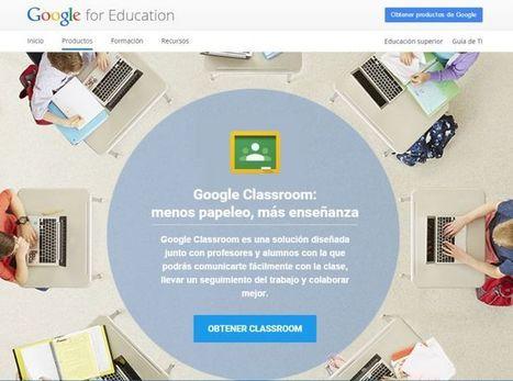 Google Classroom cuenta ahora con nueva API y nuevo botón de compartir para sitios web | Recull diari | Scoop.it