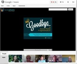 Google+ Hangouts SlideShare App via @Arodera | IPAD, un nuevo concepto socio-educativo! | Scoop.it