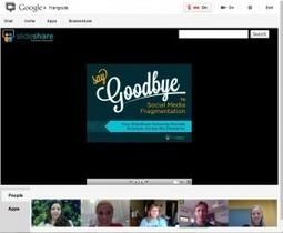 Google+ Hangouts SlideShare App | Social networking for schools | Scoop.it