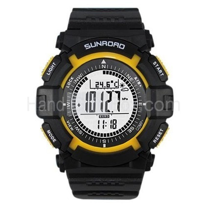 FR820A Stylish Barometer Watch with Alarm, Countdown, Stopwatch, Weather Forecast, Compass | watch | Scoop.it