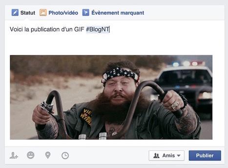 Comment publier des GIF sur #Facebook | Web information Specialist | Scoop.it