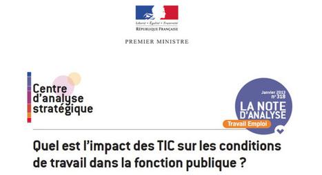 L'e-administration & les conditions de travail des agents de la fonction publique | TIC & Communication Territoriale | Scoop.it