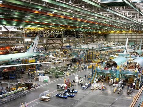 Dreaming big in Boeing's jumbo factory   AQA AS Business - BUSS2   Scoop.it
