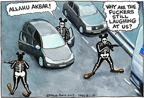 Steve Bell on the Charlie Hebdo attack – cartoon | Saif al Islam | Scoop.it