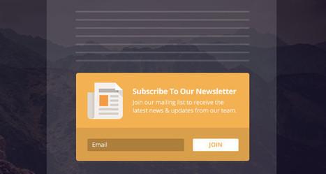 Bloom bloom, et tu me donnes ton email ! | Mes ressources personnelles | Scoop.it
