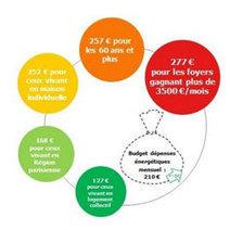 Foyers français : un budget énergétique moyen en hausse de 10% | Défis Energétiques | Scoop.it