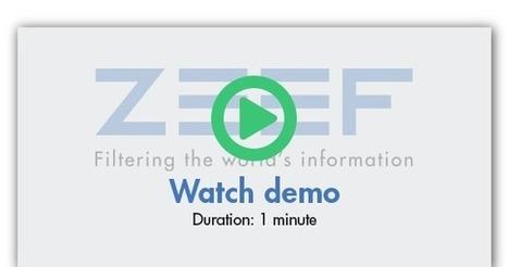 Zeef | Filtrado de la información del mundo | Filtrar contenido | Scoop.it