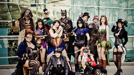 Batman and his Sexy, Steampunk and Occasionally Gender-Swapped DC Bat-Family | Cosplay News | Scoop.it