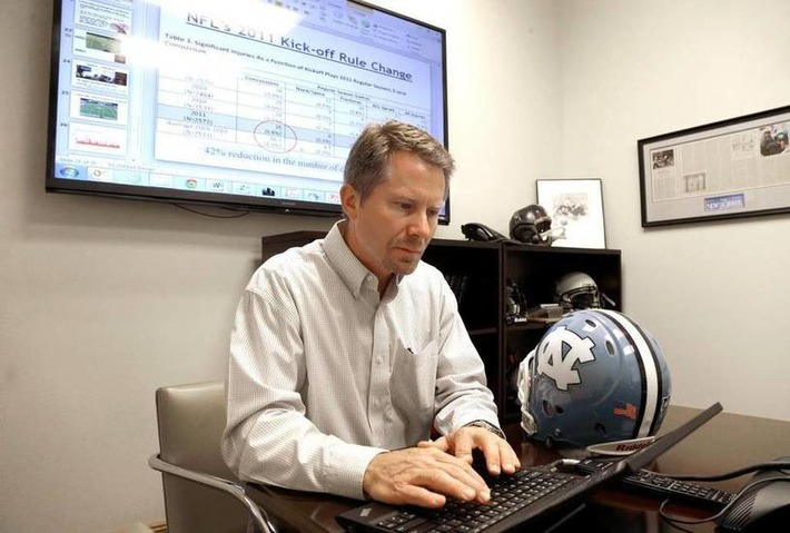 UNC's Guskiewicz talks about concussions, football | Concussion Identification and Management | Scoop.it