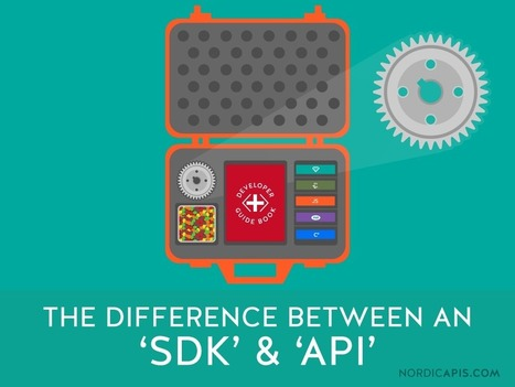 What is the Difference Between an API and an SDK? | Nordic APIs | | Arquitetura de TI | Scoop.it