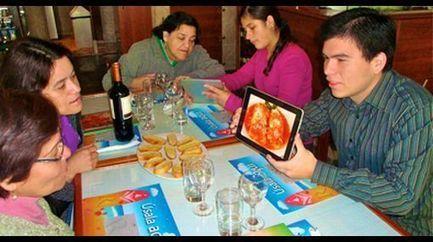 Restaurante usa códigos QR en su menú digital - El Comercio.pe   VIM   Scoop.it