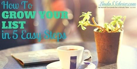 How To Grow Your List In 5 Easy Steps | Tech @ Techtricksworld | Scoop.it