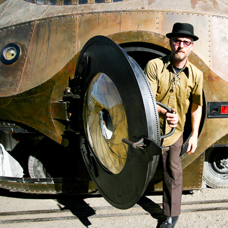 The ultimate steampunk car features a working aperture door | VIM | Scoop.it