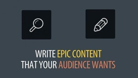 7 Ways to Find What Your Target Audience Wants and Create Epic Content | Search Engine Journal | Public Relations & Social Media Insight | Scoop.it