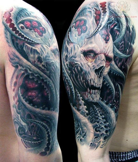 35 Amazing Full-sleeve Tattoo Designs | Digital-News on Scoop.it today | Scoop.it