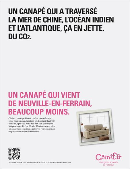 CAMIF INTERPELLE SUR LE MADE IN FRANCE | L'actu Made in France et les coups de coeur Fabrication française | Scoop.it