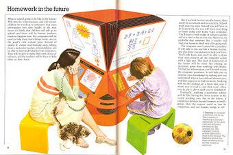 Paleofuture - Paleofuture Blog - Homework in the Future(1981)   History of Educational Technology   Scoop.it