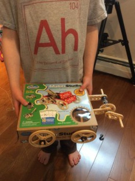 Cardboard STEM: 25 Ideas for All Those BOXES | STEM Studies | Scoop.it