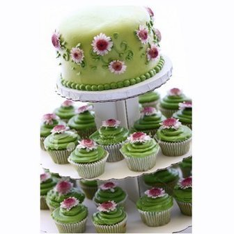 Wedding Cupcakes: Affordable and Creative Idea for Unique ... | Cute Cupcake Ideas for Childrens Tea Parties | Scoop.it