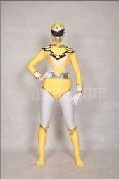 Yellow And White Unisex Spandex Costume Of Superhero [c216] - $50.00 : Buy Zentai,zentai suits,zentai costumes,lycra bodysuit,bodysuit spandex,cheap,zentai wholesale,from zentaiway.com   power ranger costumes   Scoop.it