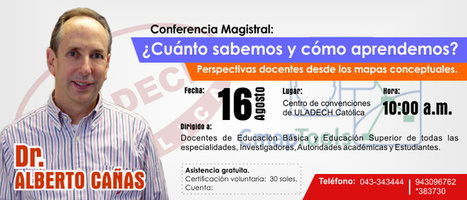 Dr. ALBERTO CAÑAS desarrollará conferencia en ULADECH Católica | RedDOLAC | Scoop.it