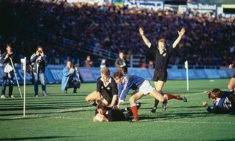 Rugby World Cup final: All Blacks and France set for reprise of 1987 | RWC - Rugby World Cup 2011 | Scoop.it