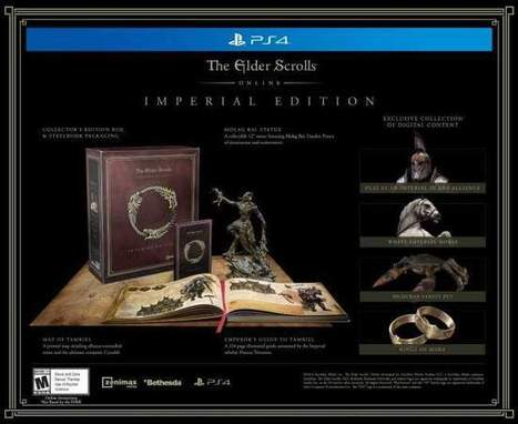 The Elder Scrolls Online – Collector's Edition Leaked from Amazon | World of Warcraft | Scoop.it