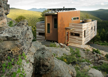 A Solar-Powered Shipping Container House in Colorado ... | Container houses | Scoop.it