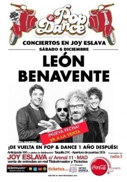 León Benavente Madrid (Fin de Gira) | LEÓN BENAVENTE | Scoop.it