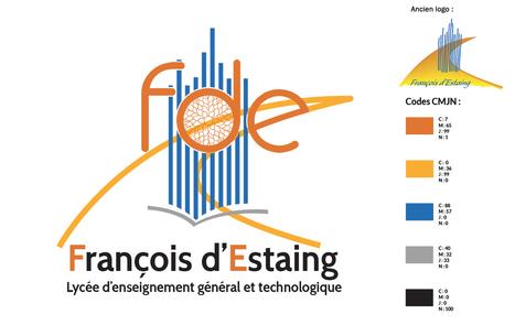 Refonte logo lycée François d'Estaing à Rodez | Agence Point Com | Scoop.it