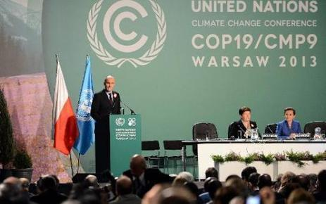 Climat: l'ombre du typhon Haiyan plane sur la conférence à Varsovie | Climat: passé, présent, futur | Scoop.it