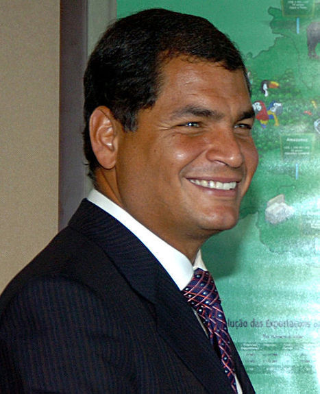 To fortify Ecuador's bioeconomy, Rafael Correa takes ​​a scientific tour of the United States » LatinAmericanScience.org » A resource for science news out of Latin America | Peer2Politics | Scoop.it