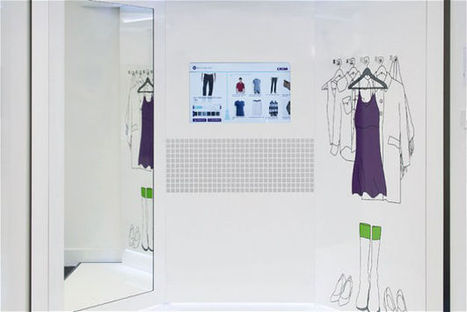Fitting Room Eliminates Personal Interactions With Salespeople - PSFK | Digital Retail Thoughts in English | Scoop.it