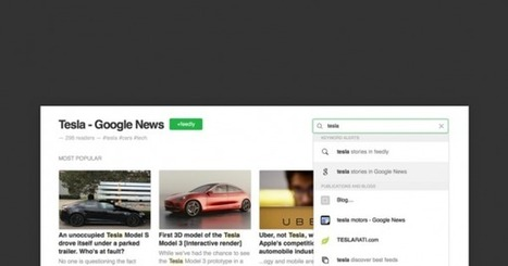 Follow a Google News Keyword Alert in Feedly | RSS Circus : veille stratégique, intelligence économique, curation, publication, Web 2.0 | Scoop.it