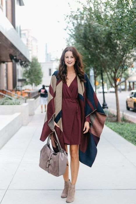 How to Style Outfit with Poncho You Should Try Now » Celebrity Fashion, Outfit Trends And Beauty News | Fashion Style And Beauty Tips | Scoop.it