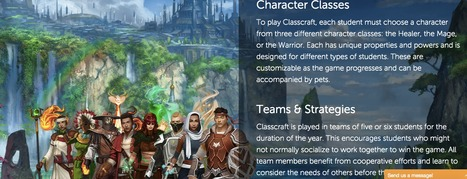 Classcraft - Make learning an adventure! | ICT Nieuws | Scoop.it