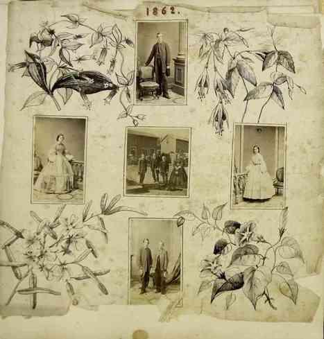 An Unusually Beautiful 19th-Century Illustrated Photo Album | Fotografía  Historia  Archivo | Scoop.it