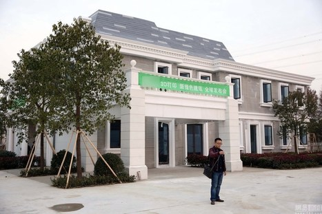 Hot Trending News » In China, 3D-printed mansions and apartment blocks are now a reality | US History | Scoop.it