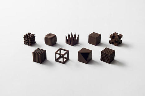 The 'World's Most Beautiful' Chocolates Are Miniature Geometric Sculptures | Josehferreira | Scoop.it