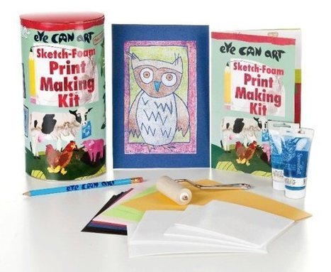 Printmaking For Kids - Turning Drawings into Prints | Drawing For Kids | Art Resources for Kids | Scoop.it