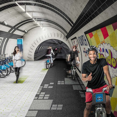 Prototypes use augmented reality to make urban cycling safer   Concepts   Scoop.it