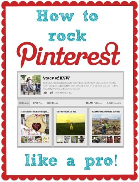 How to Rock Pinterest Like a Pro | Share Some Love Today | Scoop.it