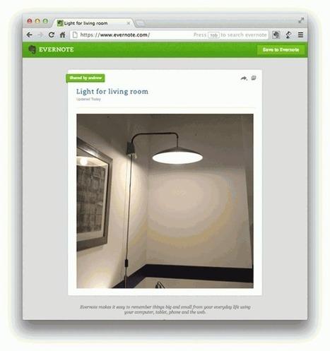 Evernote mejora el diseño de su servicio web para hacerla más fácil de usar | Tic, Tac... y un poquito más | Scoop.it