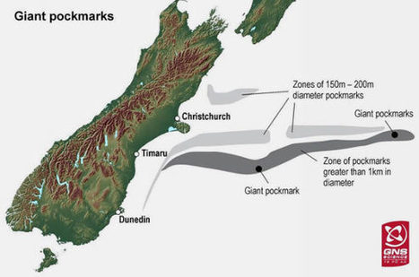 Mysterious Giant Crater-like Structures Found near New-Zealand | Amazing Science | Scoop.it